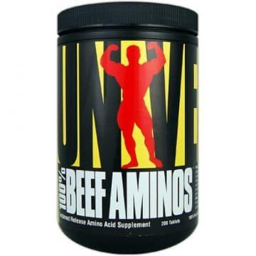Аминокислотный комплекс 100% из говядины BEEF AMINOS 400 таблеток