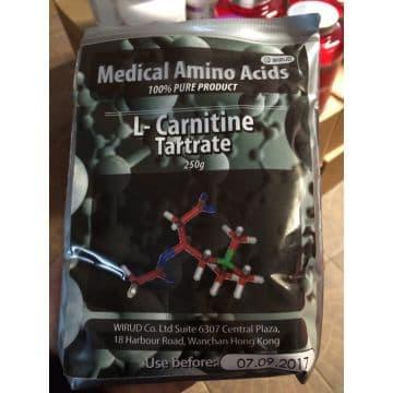 100% Л-Карнитин 250 грамм