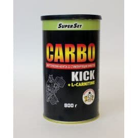 Carbo Kick + L-Carnitine 800 грамм СуперСет