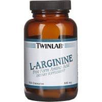L-Arginine 500 мг 100 капсул Twinlab