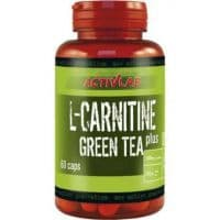 L-Carnitine+Greea Tea 60 капсул ACTIVLAB