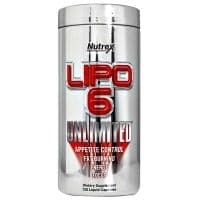 Lipo-6 UNLIMITED 120 капсул Nutrex