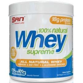 100% Natural Whey Supreme 449 грамм SAN