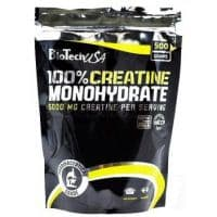 100% Creatine Monohydrate 500 грамм Biotech USA