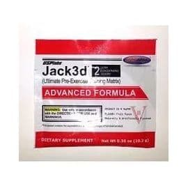 Jack3D ADVANCED FORMULA 2 порции USPLabs