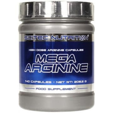 MEGA Arginine (Аргинин) 140 капсул (140 порций по 1300 мг)