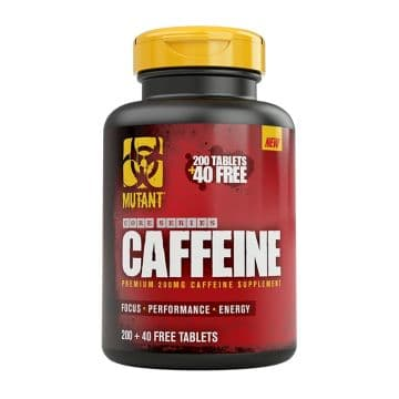 Mutant Core Series Caffeine 240 табл. FitFoods