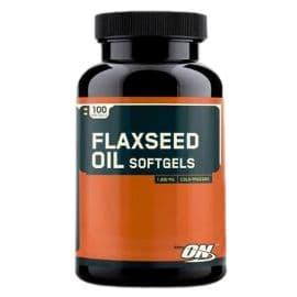 FLAXSEED 100 капсул Optimum Nutrition