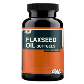FLAXSEED 100 капсул Optimum Nutrition