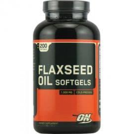 FLAXSEED 200 капсул Optimum Nutrition