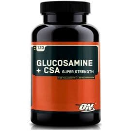 Glucosamine+CSA Super strength 120 табл Optimum Nutrition