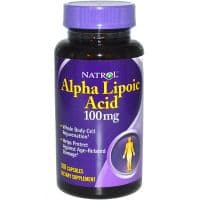 Alpha Lipoic Acid 100mg 60 капсул Natrol