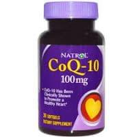 CoQ-10 100mg 30 гелевых капсул Natrol