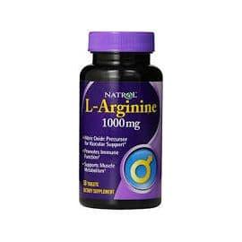 L-Arginine 1000mg 50 таблеток Natrol