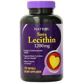 Soya Lecithin 1200mg, 120 гелевые капсулы Natrol