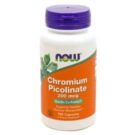 Chromium Picolinate 200mcg 100 капс. Now