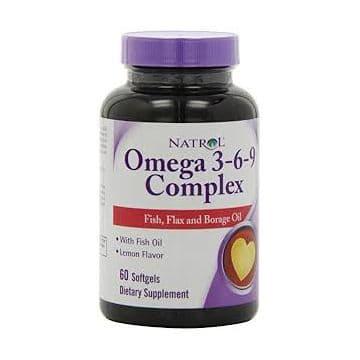 Omega 3-6-9 1200 мкг 60 капс. Natrol