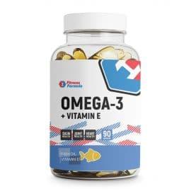 Omega-3 + Vitamin E 65% 90 капс. Fitness Formula