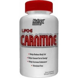 Lipo-6 L-карнитин 120 к Nutrex