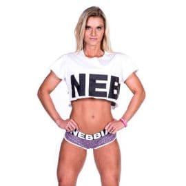 NEBBIA, 461, CROP TOP, WHITE