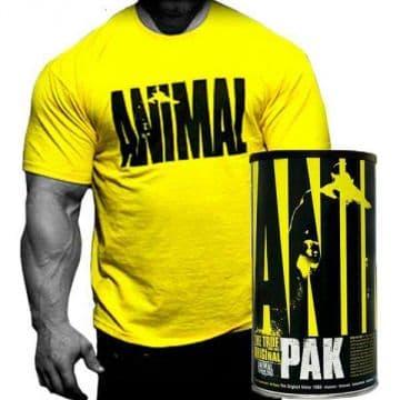 Animal Pak 44 пакетика + Футболка (Юбилейный выпуск)