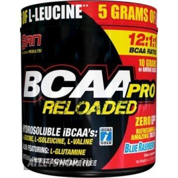 SAN BCAA PRO RELOADED (12:1:1) 456 грамм