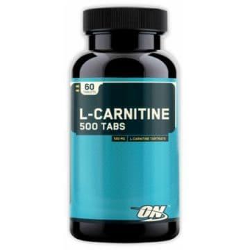 L-Carnitine 60 таблеток по 500 mg