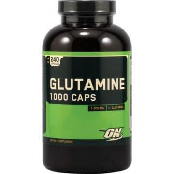 GLUTAMINE 1000 240 капс. OPTIMUM NUTRITION