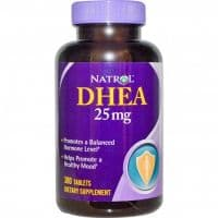 DHEA 25mg 300 таблеток Natrol