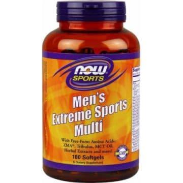 NOW Mens extreme sports multi (180 жидких капсул - курс 60 дней)