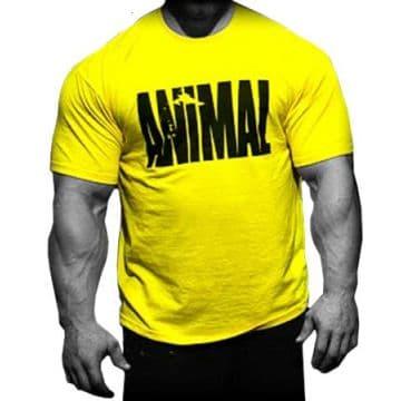 Футболка Animal жёлтая