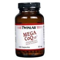 Мега Коэнзим Q10 Капс, 30 мг 100 капсул Twinlab