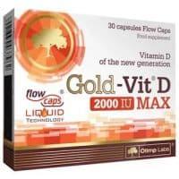 Gold-Vit D Max 30 капс. 2000UI Olimp