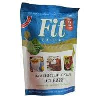 Заменитель сахара ФитПарад №14 на эритритоле и стевии. Дой-Пак 200 гр.