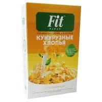 Кукурузные хлопья 200 г (коробка) Fit-Parad