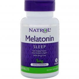 Melatonin 5mg 60 таблеток Natrol
