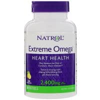 Extreme Omega 2400mg per Daily 60 жидких капсул Natrol