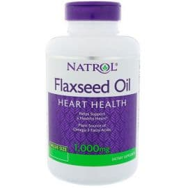 Flaxseed Oil 1000mg 90 гелевых капсул Natrol