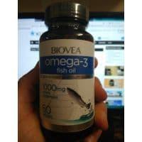 Omega-3 1000 mg (No lemon oil) 60 жидких капс. BIOVEA