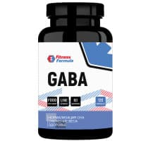 ГАБА (GABA), 750 мг, 60 капс Fitness Formula