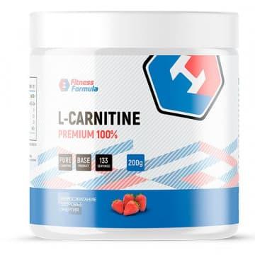 100% L-CARNITINE PREMIUM 200 г FITNESS FORMULA