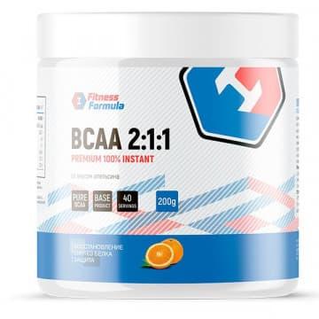 100% BCAA 2:1:1 PREMIUM 200 г FitnessFormula