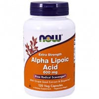 Alpha Lipoic Acid 600 мг 120 вег. капсул NOW
