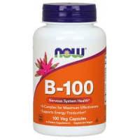 B-100 100 вег. капсул NoW Foods
