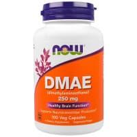 DMAE 250 мг 100 капс NOW Foods