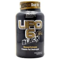 Lipo-6 HERS BLACK с ГЕРАНЬЮ 120 капсул