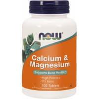 Calcium-Magnesium 500/250 мг 100 табл. NOW Foods