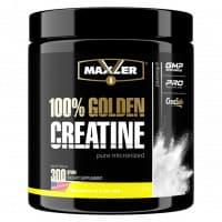100% Golden Creatine 300 г (банка) NEW DESIGN Maxler
