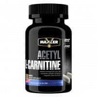 Acetyl L-Carnitine 100 caps NEW DESIGN Maxler