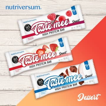 Протеиновый батончик Taste Mee 50 г (24 г белка) Nutriversum